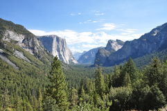 L'hiver chez Yosemite Photographie stock