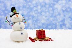 l'hiver d'amusement Images stock