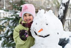 l'hiver d'amusement Photos libres de droits