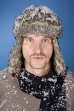 l'hiver d'homme Photos libres de droits