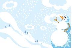 l'hiver d'horizontal Illustration de Vecteur