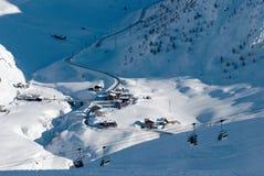 L'hiver dans Apls Image libre de droits