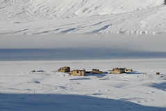 L'hiver dans la vallée de Zanskar - 1 Photos stock