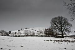 L'hiver dans le district de lac Images stock