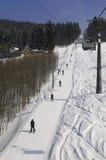 L'hiver dans Lysa Hora Images libres de droits