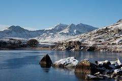 L'hiver dans Snowdonia Photographie stock libre de droits
