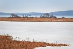 l'hiver de 2 horizontaux Photographie stock libre de droits