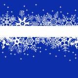l'hiver de bleu de drapeau illustration libre de droits
