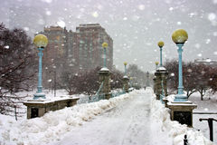 L'hiver de Boston Image stock