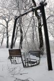 l'hiver de conte Photos stock