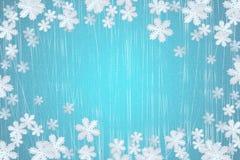 l'hiver de flocon de neige Images libres de droits