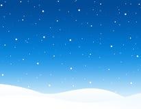 l'hiver de fond Photographie stock