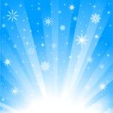 l'hiver de fond Images stock
