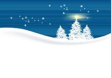 l'hiver de fond illustration de vecteur