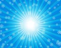 l'hiver de fond Photos libres de droits