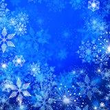 l'hiver de fond Images libres de droits