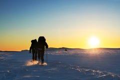 l'hiver de hausse photographie stock
