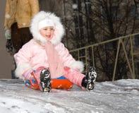 l'hiver de jeux Photo libre de droits