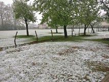 l'hiver de kosovo photos stock