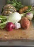 l'hiver de légumes crus de produit Photographie stock libre de droits