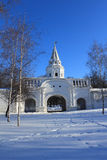 L'hiver de Moscou. Photo stock