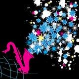 l'hiver de musique Image libre de droits
