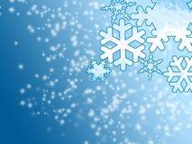 l'hiver de neige de fond Photographie stock