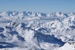 l'hiver de panorama photographie stock