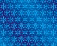 l'hiver de papier peint de neige Illustration de Vecteur