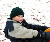 L'hiver de pièce d'enfant Image stock