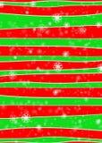 l'hiver de rouge de configuration Photos libres de droits