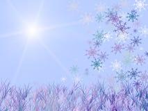 l'hiver de scène illustration libre de droits