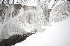 l'hiver de scène Photo libre de droits