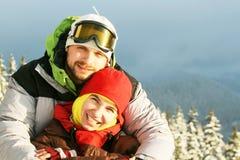 l'hiver de sport Image libre de droits