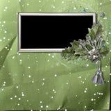 l'hiver de trame de décorations Photos stock