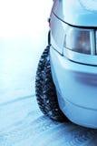 l'hiver de véhicule Photos libres de droits