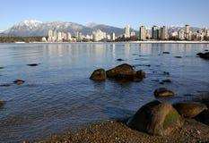 l'hiver de Vancouver Image libre de droits