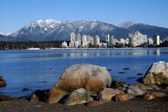 l'hiver de Vancouver Photos libres de droits