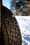 l'hiver de voie Photos stock
