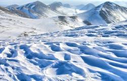 l'hiver de vue Image stock