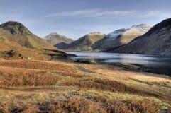 l'hiver de wasdale de vallée Photos libres de droits