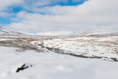 L'hiver Dovrefjell Image stock