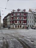 L'hiver en Allemagne photos stock