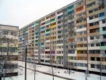 L'hiver en Pologne Photos libres de droits