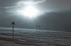 L'hiver en Suède Photographie stock libre de droits