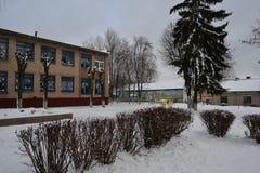 L'hiver est venu Images libres de droits
