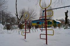L'hiver est venu Photo stock