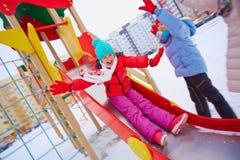 L'hiver heureux Photographie stock libre de droits