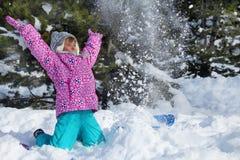 L'hiver heureux Image libre de droits