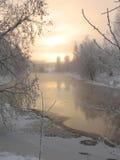 l'hiver léger Photographie stock